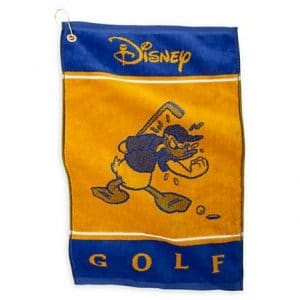 Disney World Parks Exclusive Donald Duck Get In The Hole Golf Towel by Disney