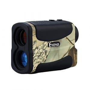 Eyoyo AF 1000L Télémètre de Golf et de Chasse Range Finder 1000 Yards 6x Grossissement(Camouflage)