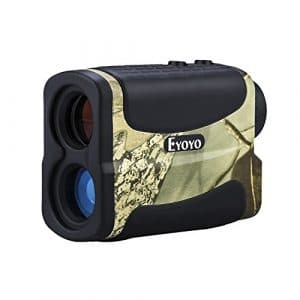 Eyoyo Télémètre de Golf et de Chasse5-700 Yard 6x Multifonction Étanche RangeFinder Fonction de télémétrie, scan, verrou de mât du drapeau, brouillard et vitesse (Camouflage)