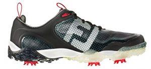 FootJoy-Freestyle-Chaussures de golf pour homme Noir/Blanc Noir/gris, noir, blanc, gris