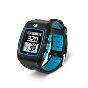 GolfBuddy WT5 Golf GPS Watch, Black/Blue