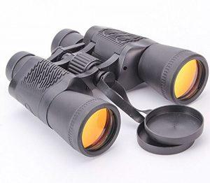Lihong Élégants Portable Haute Définition Lumière Infrarouges Vision Nocturne Jumelles, Équipement De Sports De Plein Air De 10 X 50