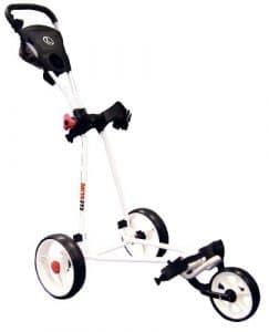 Longridge Chariot de golf Eze Glider mixte adulte Blanc 23.5 x 71 x 48 cm