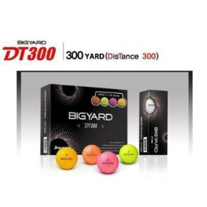 Nexen Big Yard DT 300 Colored 432 Dimple Design Golf Balls – 1 Dozen by Nexen