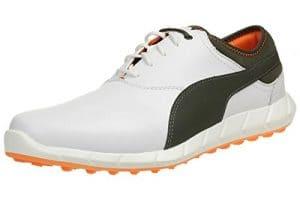Puma Ignite Golf Men Golfschuhe white leather 188679 06, pointure:eur 41