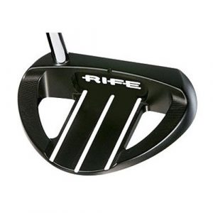 Rife Barbados Black Heel Shaft Belly Mallet Golf Putter, 43-Inch, Right by Rife