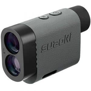 Suaoki PF3 600M Télémètre Laser de Golf avec Verrouillage du Drapeau, Mode Slope et Distance / Hauteru/ Vitesse/ Angle Measurement, Gris