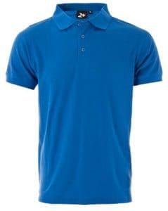 Twentyfour motion t-shirt polo Bleu Bleu roi SMALL