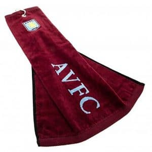 Aston Villa Serviette de golf officiel