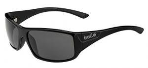 Bollé Kingsnake Lunettes de soleil Homme Shiny Black Modulator Polarized Grey Oleo AF Taille M