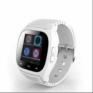 Connecté Montre de Sport Fitness Intelligente Watch,Synchronisation automatique,d'Activité Fitness,Cardiofréquencemètres,Moniteur de sommeil,Appel mains-libres,Compatible avec pour Android IOS Smart Phone Samsung