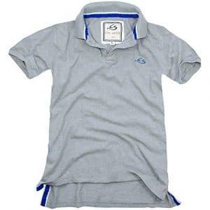 Cox Swain Vintage Polo Shirt T-Shirt, Colour: Grey, Size: L