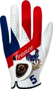 Easy Glove Flag_France Gant de golf Multicolore M