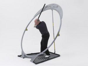 Explanar Appareil d'entraînement de golf avec 2 clubs spéciaux Power Roller