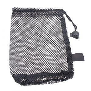 Forfar Sac de golf Mesh Nets Porte-sac de golf Balles de tennis Balles de golf de stockage Fermeture aide à la formation