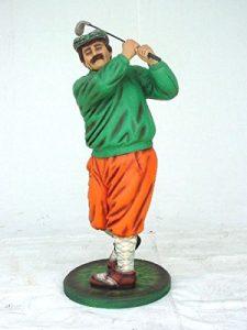 Golfeur classique Petit verkleinert 100cm pour l'extérieur en fibre de verre haute qualité plastique (GFK)
