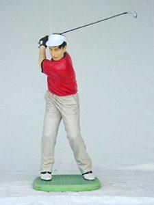 Golfeur moderne Petit verkleinert 100cm pour l'extérieur en fibre de verre haute qualité plastique (GFK)