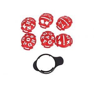 Kelaina dédiée Balle de golf Ligne Liner marqueur Modèle Mark Liner Balle de golf Outil d'alignement (style aléatoire)