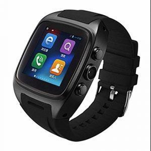 Montre de Sport Fitness Intelligente Montre Smart Watch,Moniteur Fréquence Cardiaque,Design Elégant,Podomètres,très confortable à porter,Compteur de Calories,Message ou Appel pour Smartphone Android