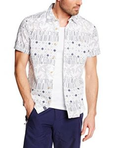 Oxbow Clagen Chemise Homme Blanc FR : M (Taille Fabricant : M)