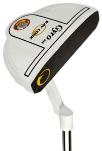 Ray Cook Golf Gyro Semi Mallet SM White Putter, 34, Right by Ray Cook