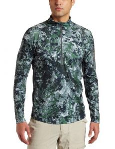 Sitka Gear Core Zip Tee Base Layer Shirt, Optifade Forest, Small by Sitka Gear