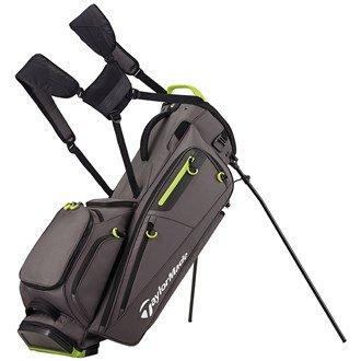 TaylorMade Golf 2017 FlexTech Stand Bag Mens Carry Bag 5-Way Divider Grey/Green