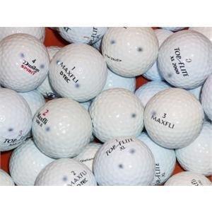 ToCi Lot de 50Balles de golf AAA/AA Marques mixtes