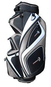 Asbri Golf XP14–Sac de Golf-Argent