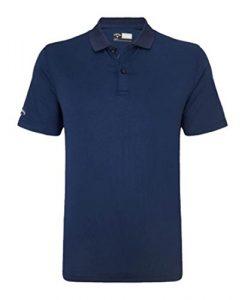 Callaway Polo classique uni pour homme XL bleu marine