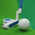 Crestgolf Kids Club de golf Putter Junior, bleu
