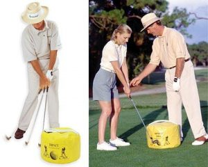 Dr. Gary Wiren Impact Bag Golf Impact Training Aid by Impact Bag