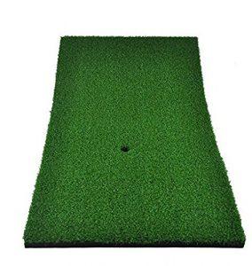 Eionfer Golf P12«X24» Practise A tapis en caoutchouc support de Tee de golf Practise Tapis