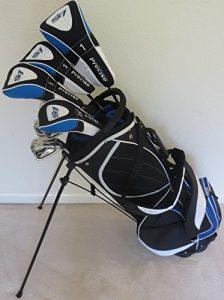 Ensemble de clubs de golf pour homme complet et sac pour droitier Regular Flex