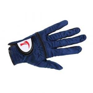 Gazechimp Maille Filet Gant de Golf Respirabilité Pour Main Gauche Homme – bleu royal , 27