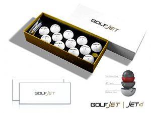 Golfjet Jet4Vingtaine de balles de golf. 4couches Twin Power Core, 338hexagonale Aero Motif pilote avec Ultrasoft Coque en uréthane. améliorer la Distance, Optimisez courte Jeu Spin, contrôle ultime.