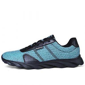 Homme Femmes Chaussures de Course Sports Fitness Gym Athlétique Baskets Sneakers Poids Léger