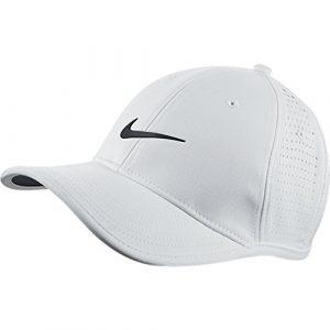 Nike Tour Casquette de golf ultra légère perforée pour homme Divers Blanc – Blanc/Noir