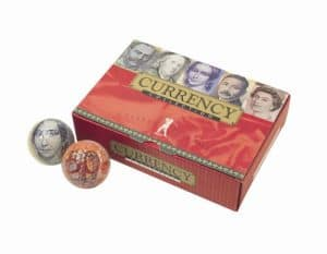 Novelty 'Currency' Balles de golf Lot de 6