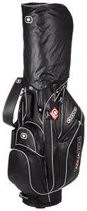OGIO Silencer Aquatech Sac chariot de golf imperméable (Noir de jais/argent)