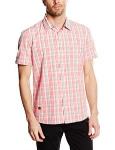 Oxbow Cantrum Chemise Homme Pêche FR : L (Taille Fabricant : L)