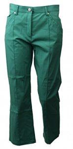 Pantalons Femme Pirate Vert Taille 34