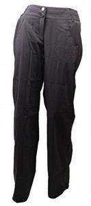 Pas longue Cargo Pantalon Femme Gris Taille 38