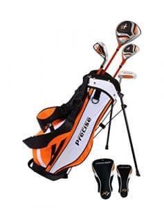 précis X7Junior complète club de golf pour enfants–3tranches d'Âge Tailles disponibles–garçons et filles–La Main droite et main gauche., Orange Ages 3-5