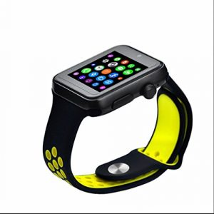 Smartwatch Bluetooth Montre de Sport Intelligente Montre,Sport Tracker,Fitness Tracker,Podomètres,Cardiofréquencemètres,écran tactile capacitif pour Téléphone Android Samsung/HTC/LG/Huawei/ZTE et fonctions partielles pour IOS Apple Iphone