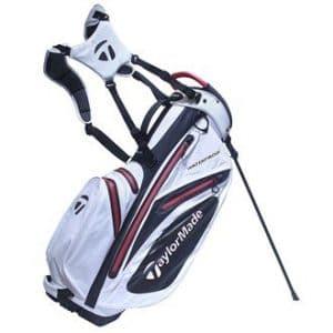 TaylorMade étanche Sac de golf avec support 2017, Blanc/Noir/Rouge