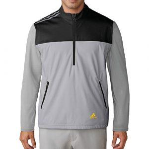 Adidas Golf 2018 Mens Competition Windproof Full Zip Vest Black 2XL