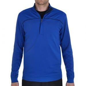 am4044aw2014de Golf Ashworth Performance ez-sof French Terry Pull coupe-vent pour homme Bleu Bleu xx-large