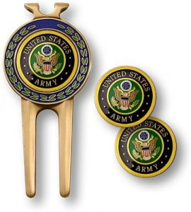 Army Divot Tool and Ball Markers by Northwest Territorial Mint