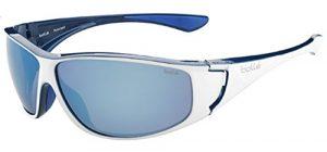 Bollé Highwood Lunettes de soleil Shiny White/Blue Taille L
